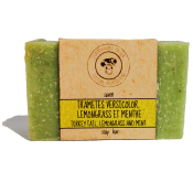 Green Turekey tail, lemongrass, mint mycomedicinal soap